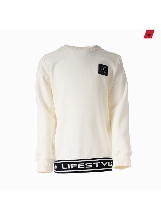 AB Lifestyle Kids - Luigi Sweater Off White