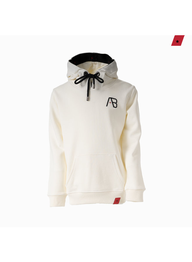 AB Lifestyle Kids - Taped Hoodie Off White