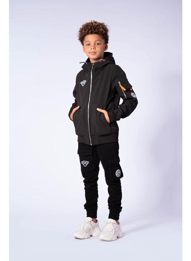 Black Bananas JR - Softshell Jacket Grey