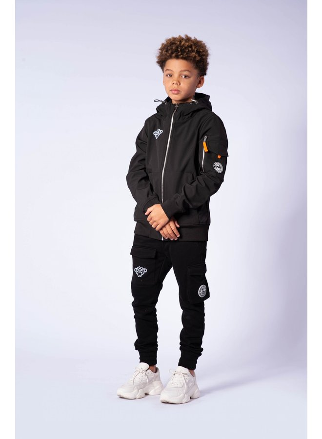 Black Bananas JR - Softshell Jacket Black