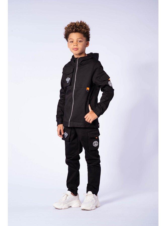 Black Bananas JR - Cargo Jacket Black