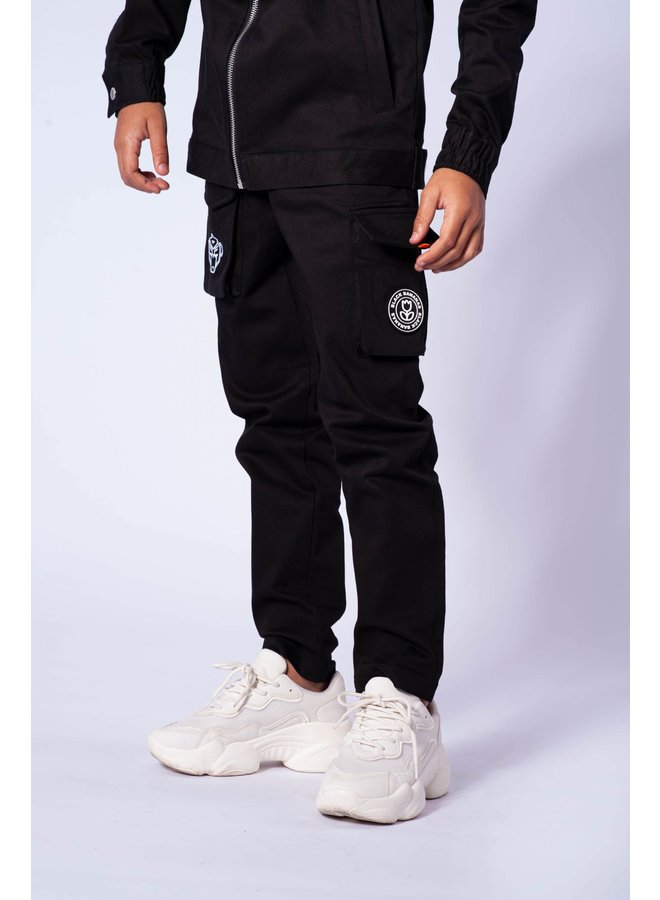 Black Bananas JR - Cargo Pants Black