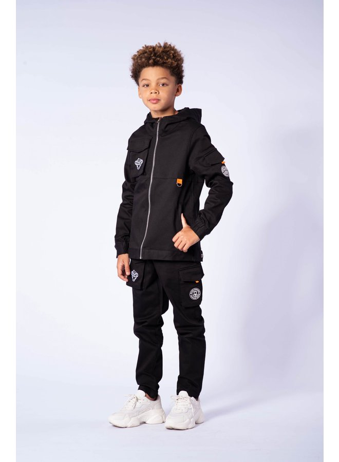 Black Bananas JR - Cargo Pants Black