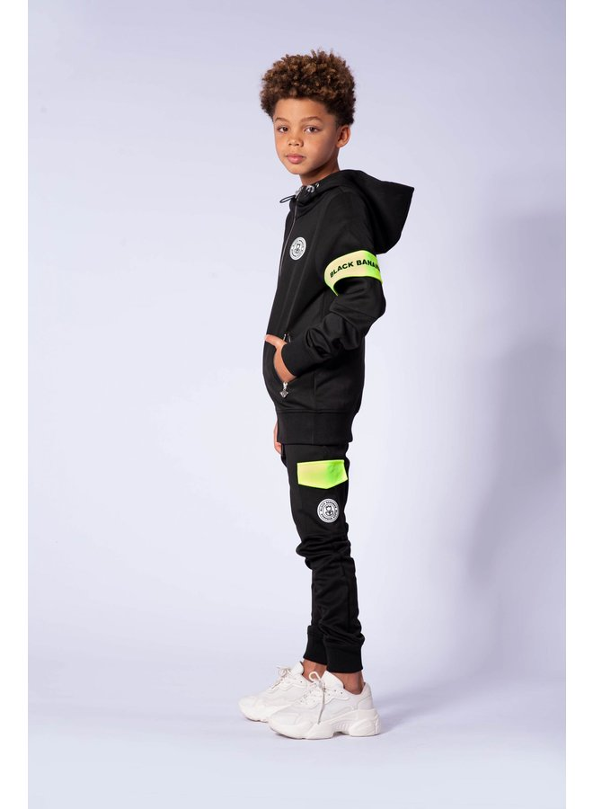Black Bananas JR - Command Tracksuit Black