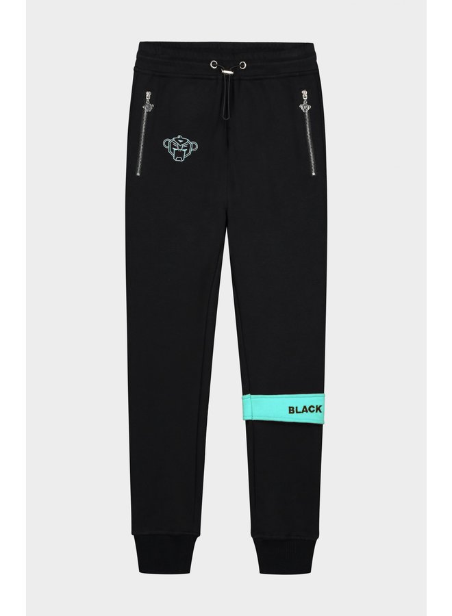 Black Bananas JR - Command Jogger Black Aqua