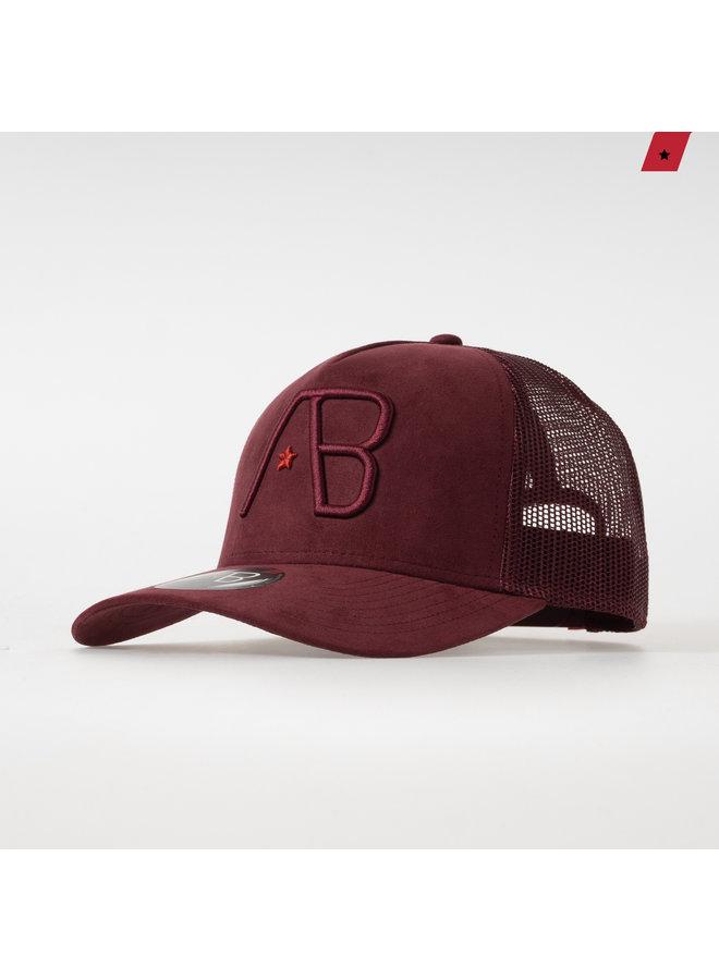 AB Lifestyle - Velvet Trucker Cap Maroon