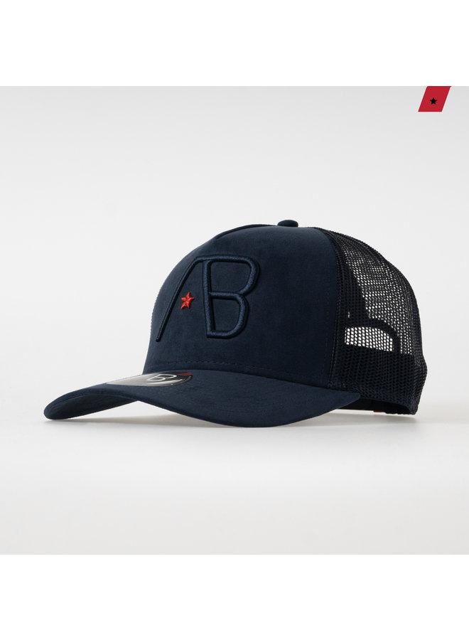 AB Lifestyle - Velvet Trucker Cap Navy