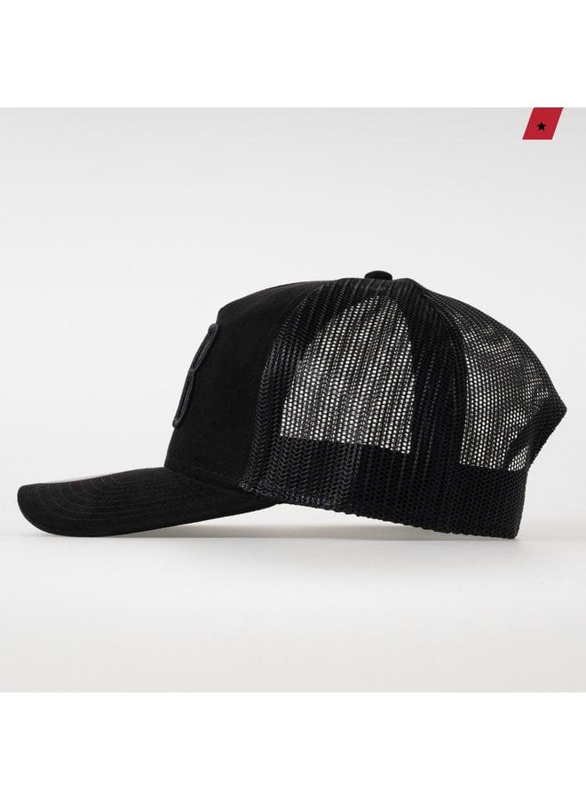 AB Lifestyle - Velvet Trucker Cap Phantom Black