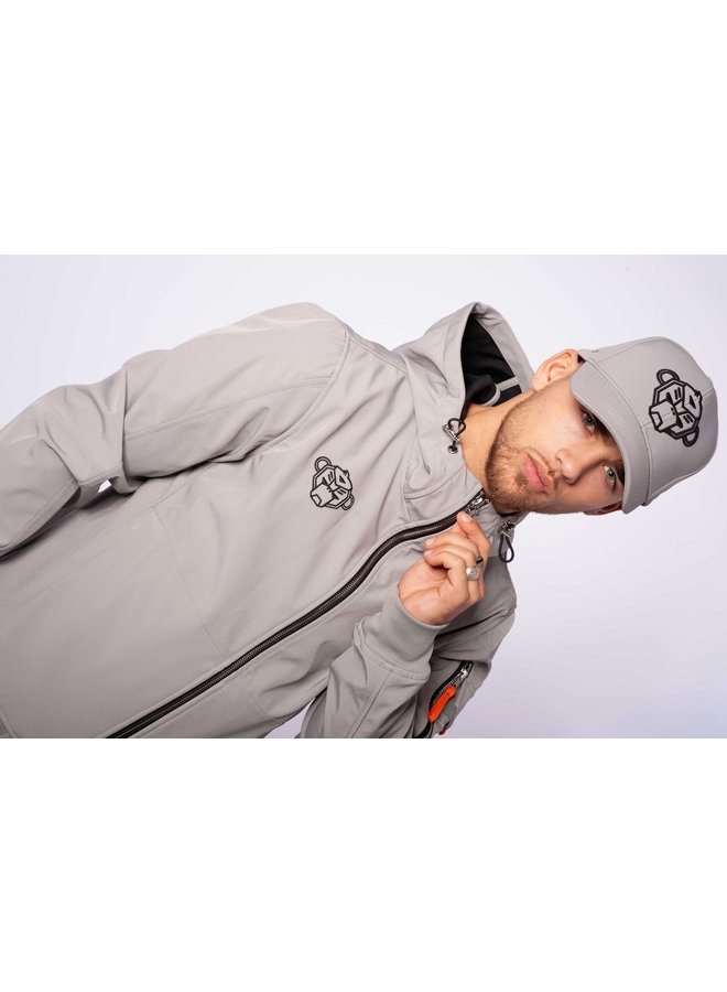 Black Bananas - Seatle Softshell Jacket Grey