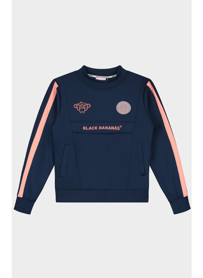 Black Bananas Women - Miami Crewneck Navy