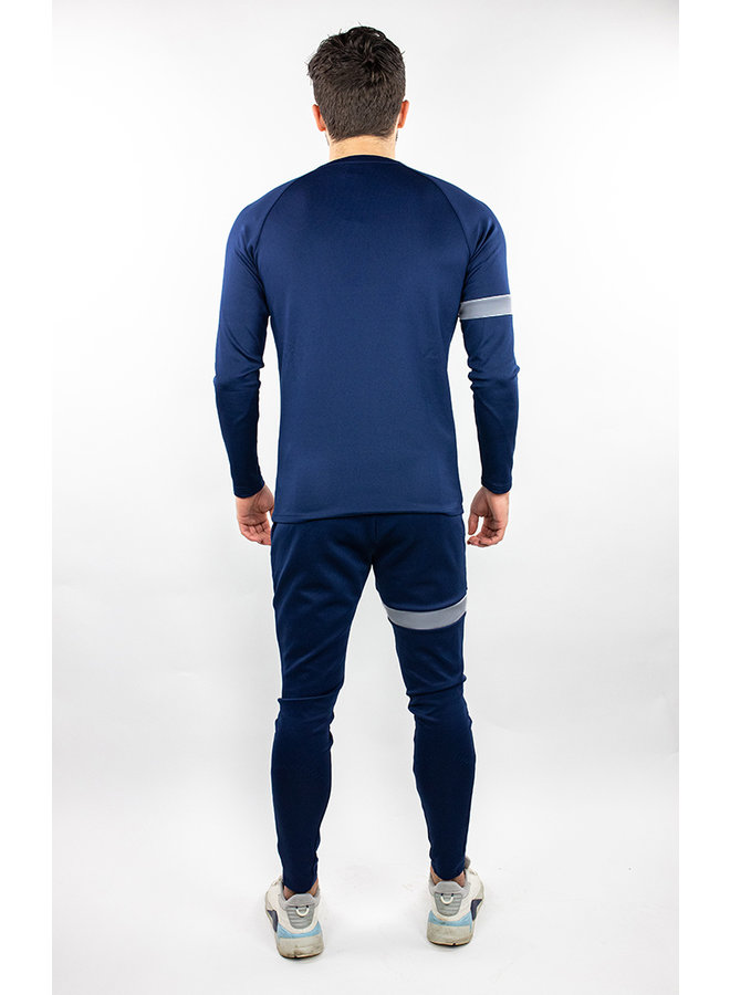 Donza - Polyester Suit Blue