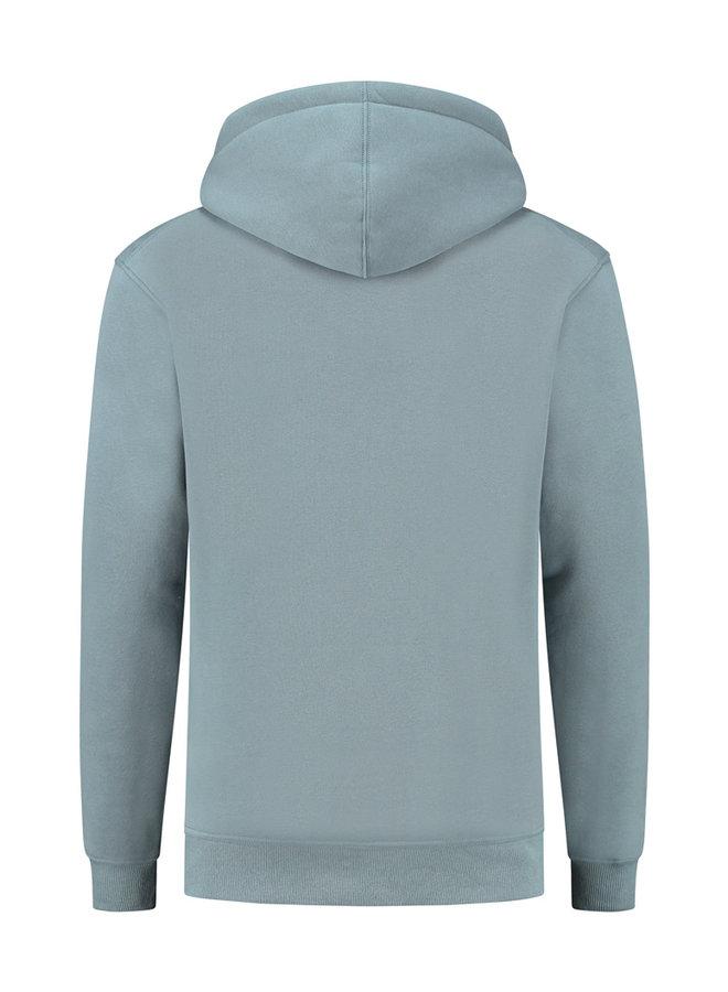 Concept R - Damaged Basic Hoodie Blue