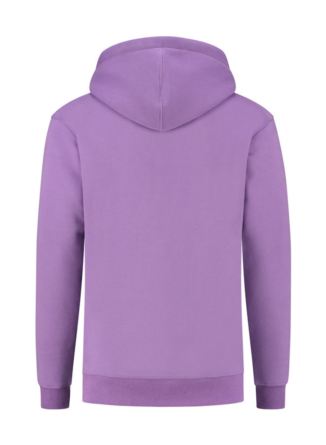 Concept R - Damaged Letter Hoodie Purple