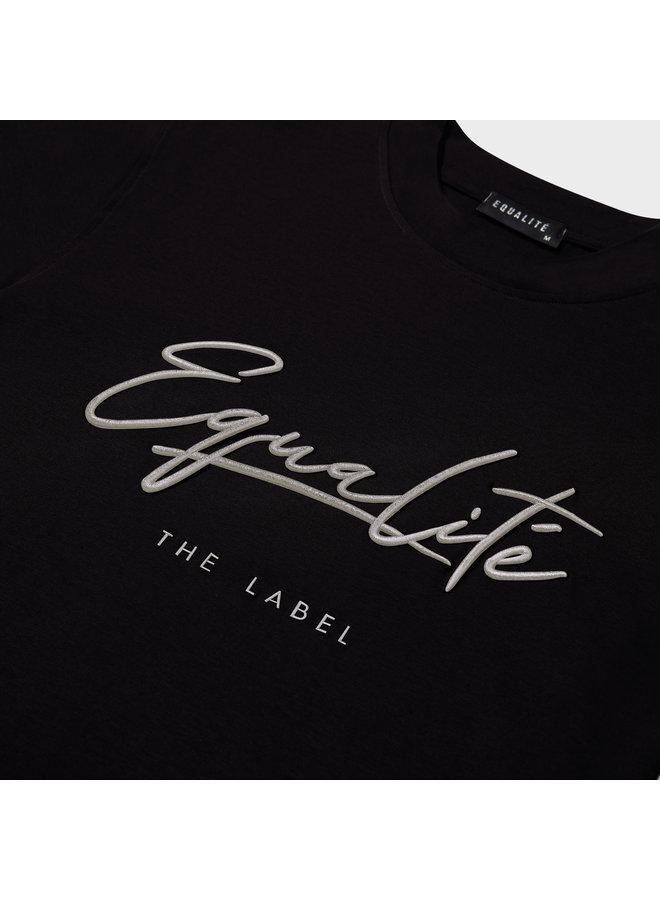 Equalite - Wafi Signature Tee Black Beige