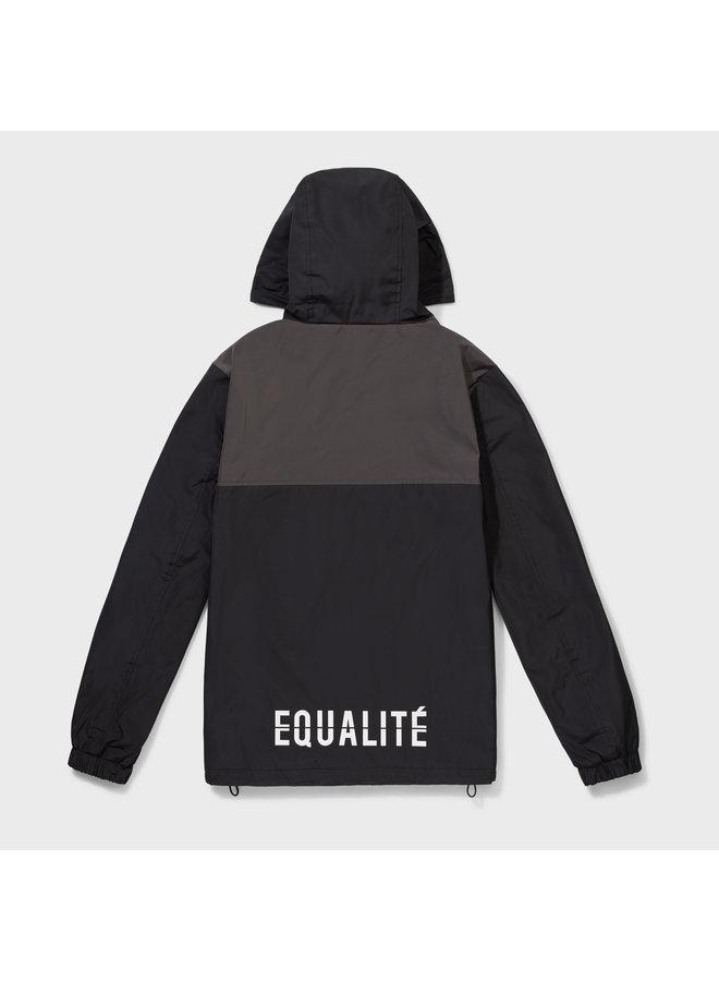 Equalite - Alix Windbreaker Black Antra