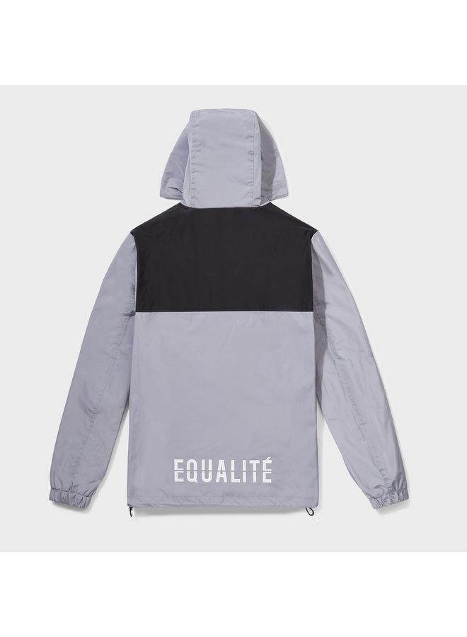 Equalite - Alix Windbreaker Black Grey