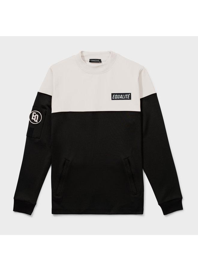 Equalite - Future Polyester Tracksuit Black Beige