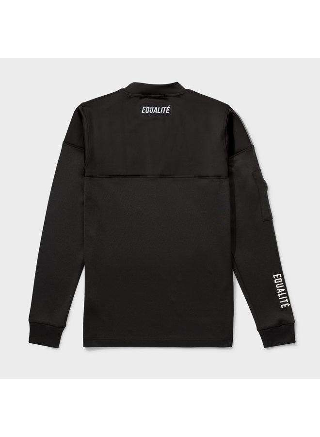 Equalite - Future Polyester Tracksuit Black Black