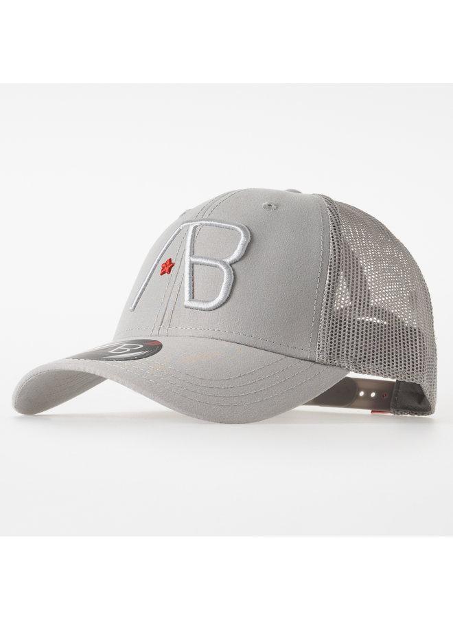 AB Lifestyle - Retro Trucker Cap 2Tone Grey Grey