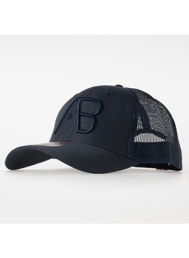 AB Lifestyle - Retro Trucker Cap Navy