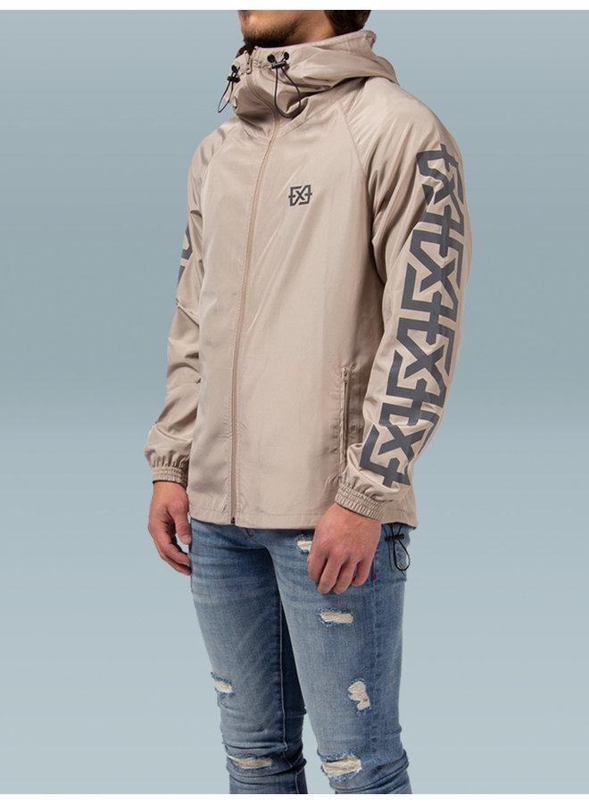 XPLCT Studios- Reflective Jacket Beige
