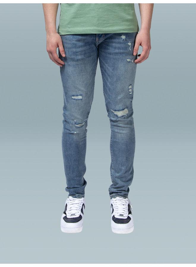 XPLCT Studios - Destroyed Jeans Sandwash