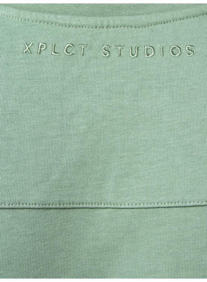 XPLCT Studios - Essential Tee Smoke Green
