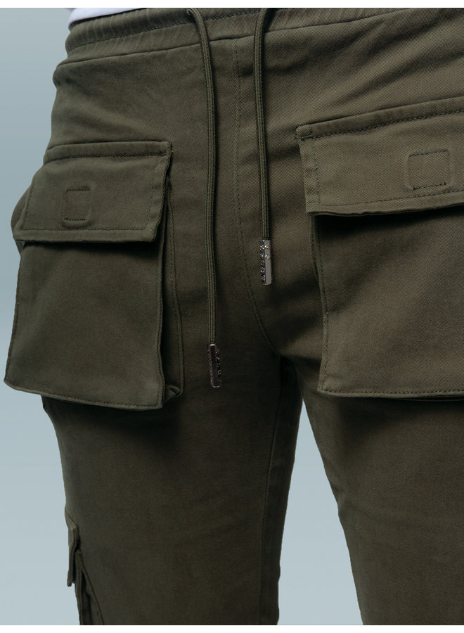XPLCT STUDIOS  - YOUTH PANTS - ARMY