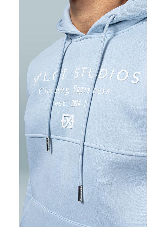 XPLCT STUDIOS - STUDIO HOODIE - BABY BLUE