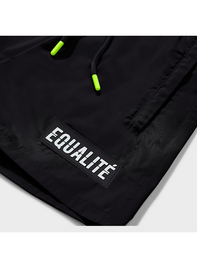 EQUALITE - AMIR SWIMSHORT - BLACK