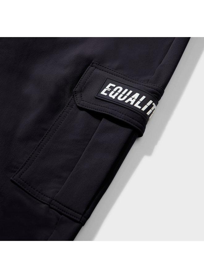 EQUALITE - CARGO PANTS - BLACK