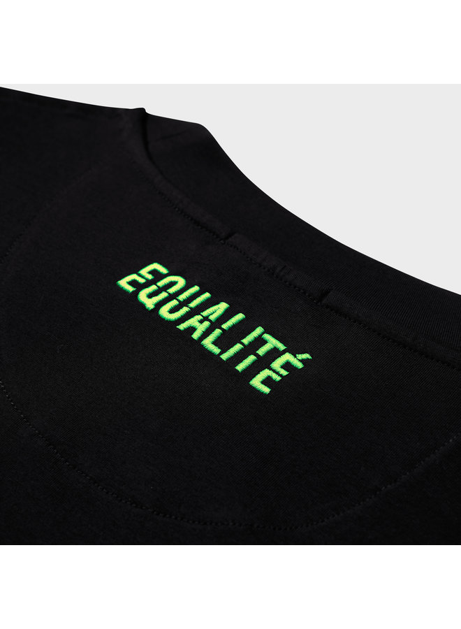 EQUALITE - DEMIR CARBON TEE - BLACK