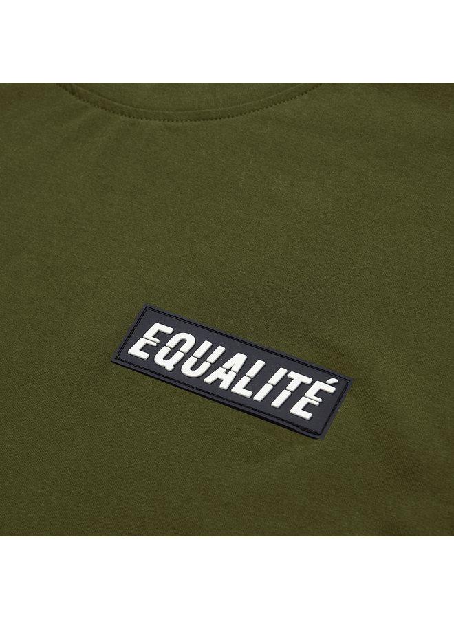 EQUALITE - TRAVIS TEE - ARMY