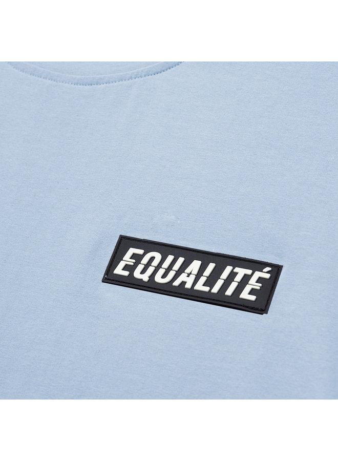 EQUALITE - TRAVIS TEE - LIGHT BLUE