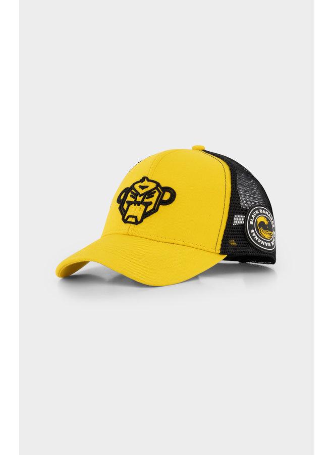 BLACK BANANAS - JR. WAVY TRUCKER CAP YELLOW