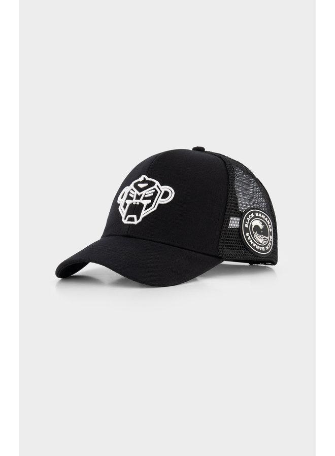 BLACK BANANAS - JR. WAVY TRUCKER CAP BLACK