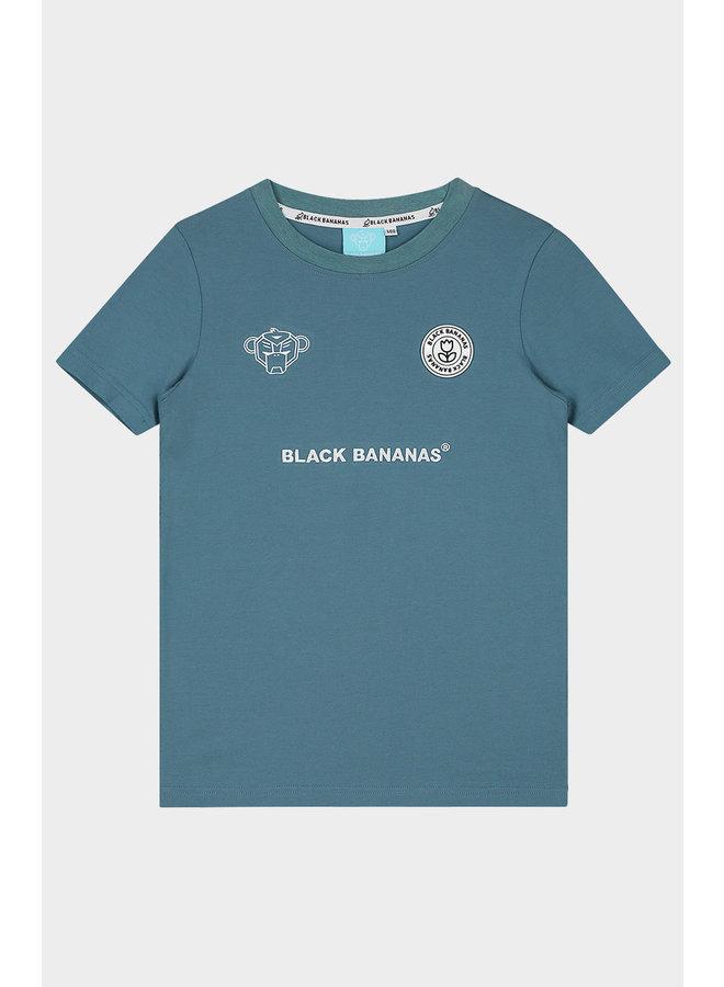 BLACK BANANAS KIDS - F.C. BASIC TEE BLUE