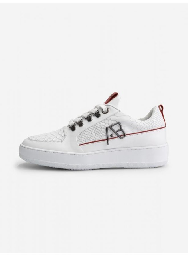 AB LIFESTYLE - FOOTWEAR LEATHER WHITE