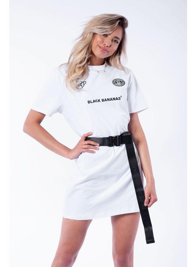 BLACK BANANAS WOMEN - COLORADO DRESS WHITE