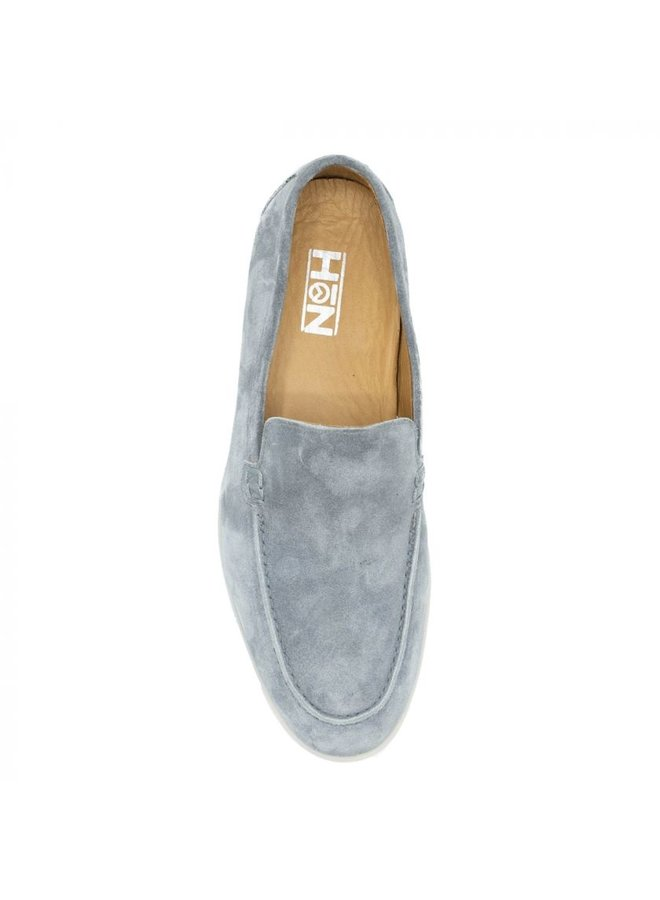 HON - LOAFERS SUEDE GREY LOW