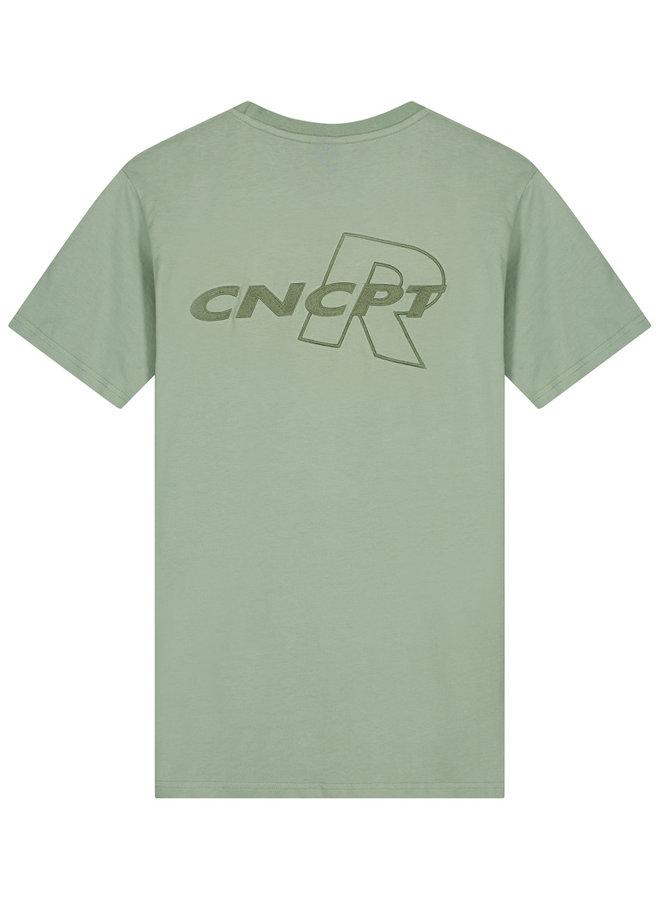 CONCEPT R - CNCPTR TEE GREEN