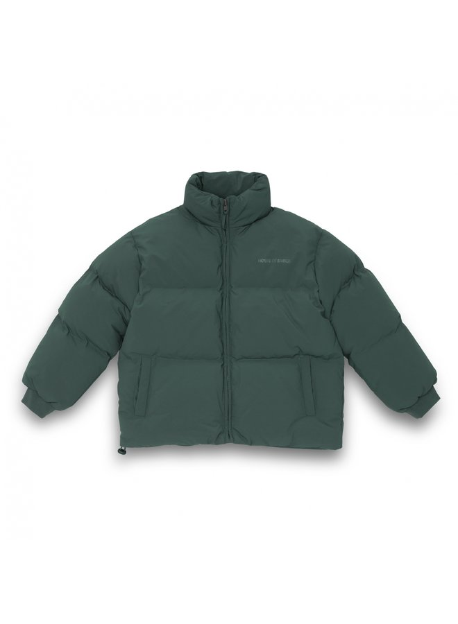 HOUSE OF BASICZ - THE PUFFER COAT SEA GREEN