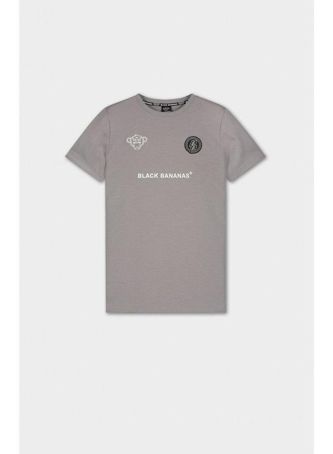 BLACK BANANAS - MONKEY TRON TEE GREY/WHITE