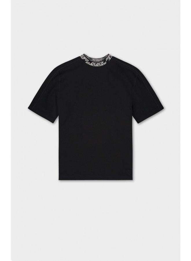 BLACK BANANAS - WMN COIN TEE BLACK/WHITE