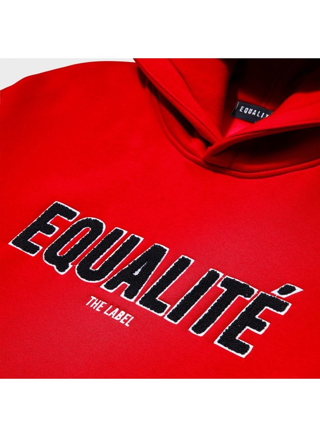 EQUALITE - HARIS TRACKSUIT RED