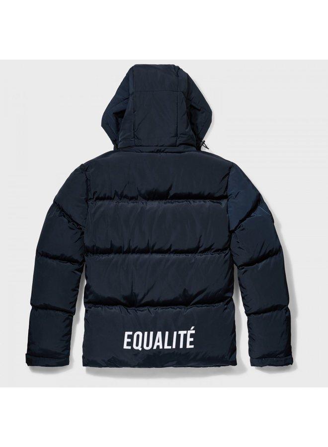 EQUALITE - ODA PUFFER JACKET NAVY