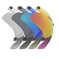 A2 Snap-on visor for Alpha-2 ice speed skating helmet