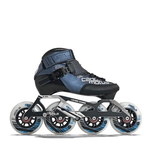 Cádomotus Rookie Two Kids Inline Skate 4x84 | 3x90 + extra ankle support | size 31-33