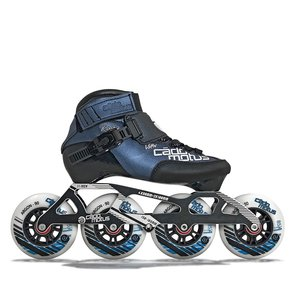 Cádomotus Roller Enfant ROOKIE TWO 4x90 | Configuration de course 3x100 + maintien supplémentaire de la cheville