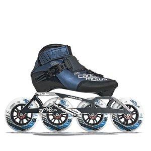 Cádomotus Roller Enfant ROOKIE TWO 4x100 | Configuration de course 3x110 + maintien supplémentaire de la cheville